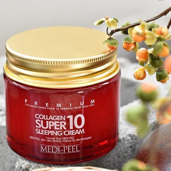 Kem Ngủ Collagen Medi Peel Collagen Super 10 Sleeping Cream - 2669242 , 277814171 , 322_277814171 , 620000 , Kem-Ngu-Collagen-Medi-Peel-Collagen-Super-10-Sleeping-Cream-322_277814171 , shopee.vn , Kem Ngủ Collagen Medi Peel Collagen Super 10 Sleeping Cream