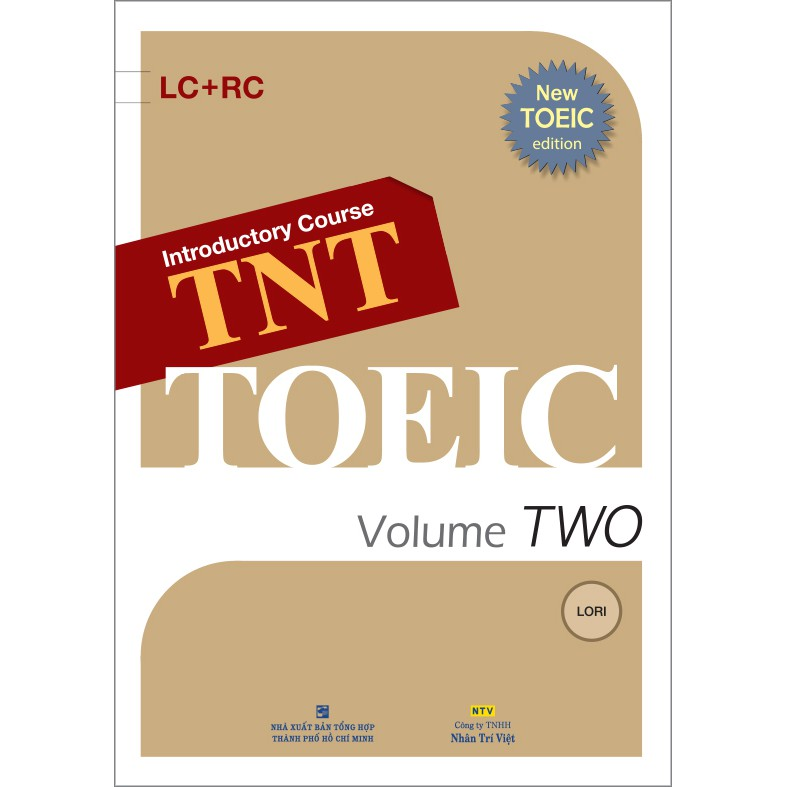 TNT TOEIC - Introductory course Volume TWO (kèm CD)