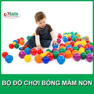Bóng Nhựa Mini Cho Bé Chơi Túi 35 Bóng MS 028