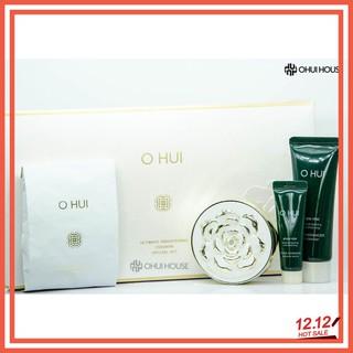 BỘ PHẤN NƯỚC DƯỠNG TRẮNG DA OHUI Ultimate Brightening Cushion Set (4 SP) thumbnail
