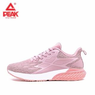 [Mã FASHIONXANH273 hoàn 10% tối đa 50K xu đơn 300K] Giày chạy bộ Nữ PEAK Cushion Running EW94738H thumbnail