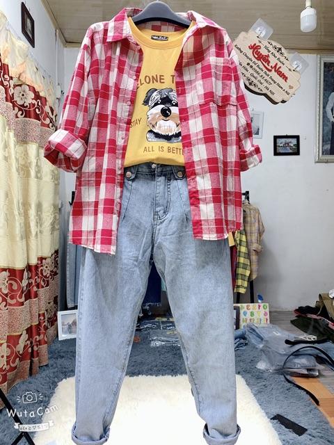 quần baggy 3 khuy phom thụng mã 341 - 342