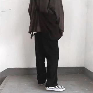 Quần nỉ dài Black Pants, JACK LANE, quần nỉ nam nữ Unisex Jack Lane ống xuông