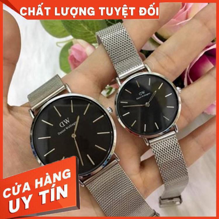 Đồng hồ cặp đôi Halei dây lưới thép trẻ trung sang trọng thiết kế nhỏ gọn đường nết tinh sảo thương hiệu đẳng cấp