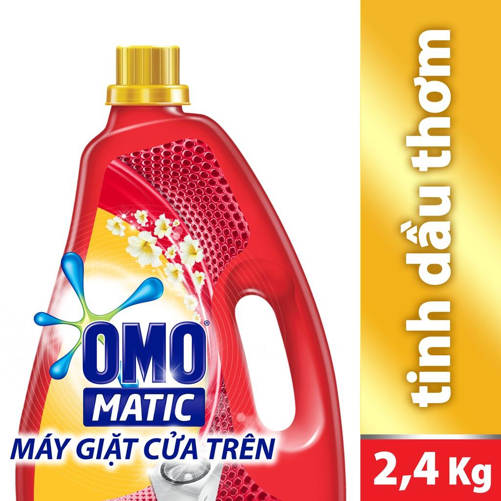 Nước giặt Omo Matic Tinh dầu thơm Comfort chai 2.4kg (MSP 67225280) - 3188339 , 422008215 , 322_422008215 , 161000 , Nuoc-giat-Omo-Matic-Tinh-dau-thom-Comfort-chai-2.4kg-MSP-67225280-322_422008215 , shopee.vn , Nước giặt Omo Matic Tinh dầu thơm Comfort chai 2.4kg (MSP 67225280)