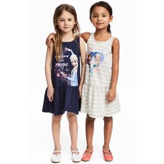 Váy elsa cho bé gái ⚡XUẤT DƯ XỊN⚡váy cho bé mùa hè cực mềm mát, nhiều hình công chúa elsa, pony, kitty cho bé 2-10 tuổi