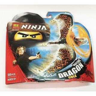 [Tặng Bút Chì Kèm Tẩy Nhiều Nhân Vật] Quay Ninja Go Siêu Cấp [Đồ Chơi Trẻ Em An Toàn]