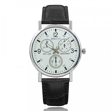 Đồng hồ Bamezo đeo tay nam dây da lịch lãm cực thời thượng DH97