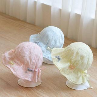Trẻ em, mũ, mùa xuân và mùa thu hè, mũ che nắng em bé, kem chống nắng phiên bản Hàn Quốc mới dễ thương thumbnail