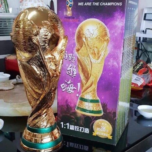 Cúp vàng worldcup Mạ vàng 24k