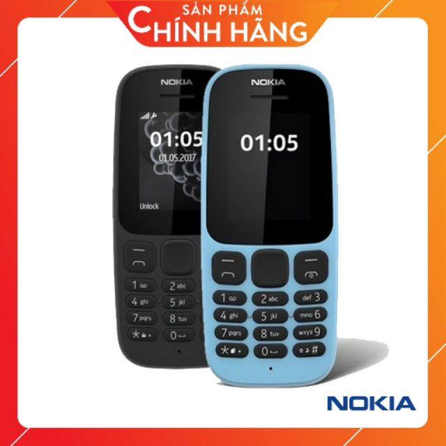 Điện thoại nokia 105 1 sim 2017 ( chính hãng cũ 99% )