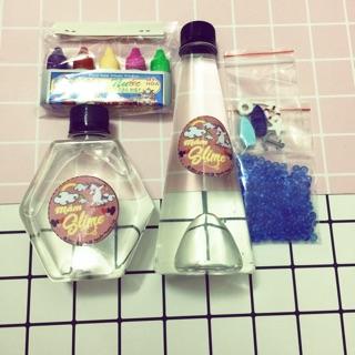 Bộ kít làm slime trong khuyến mãi gói borax nhỏ