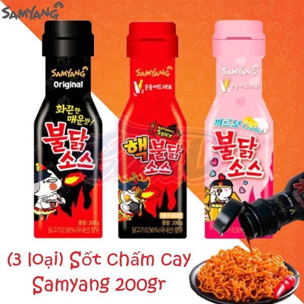 (3 vị) Sốt chấm cay Samyang 200gr