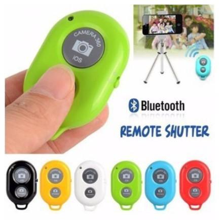 Remote Chụp Ảnh Tích Hợp Hệ Điều Hành Andoird Và IOS - Nút Remote Bluetooth