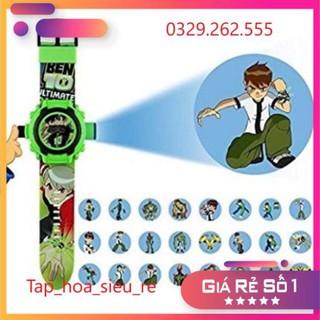 (Rẻ Vô địch) Đồng hồ Ben 10 chiếu hình nhân vật 3D siêu hot thumbnail