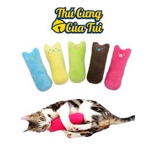 Gối Ôm Nhồi Bông Cho Mèo Có Mùi Catnip Cỏ Bạc Hà Mèo Bên Trong - Thú Cưng Củ thumbnail