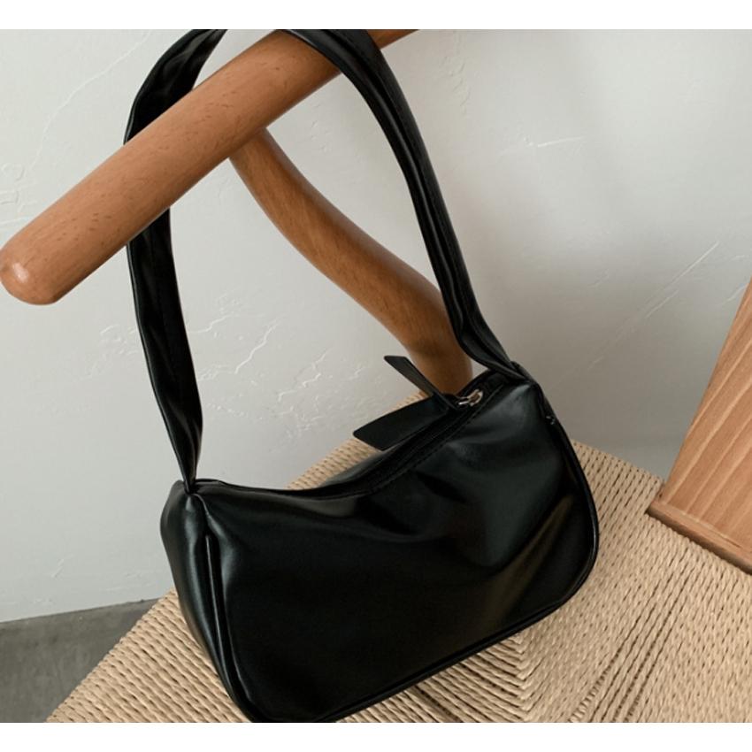 Túi xách nữ, túi kẹp nách da mềm trơn BH 433
