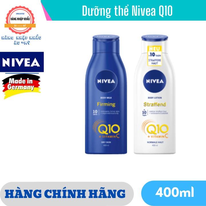 Dưỡng thể Nivea Q10, xách tay Đức