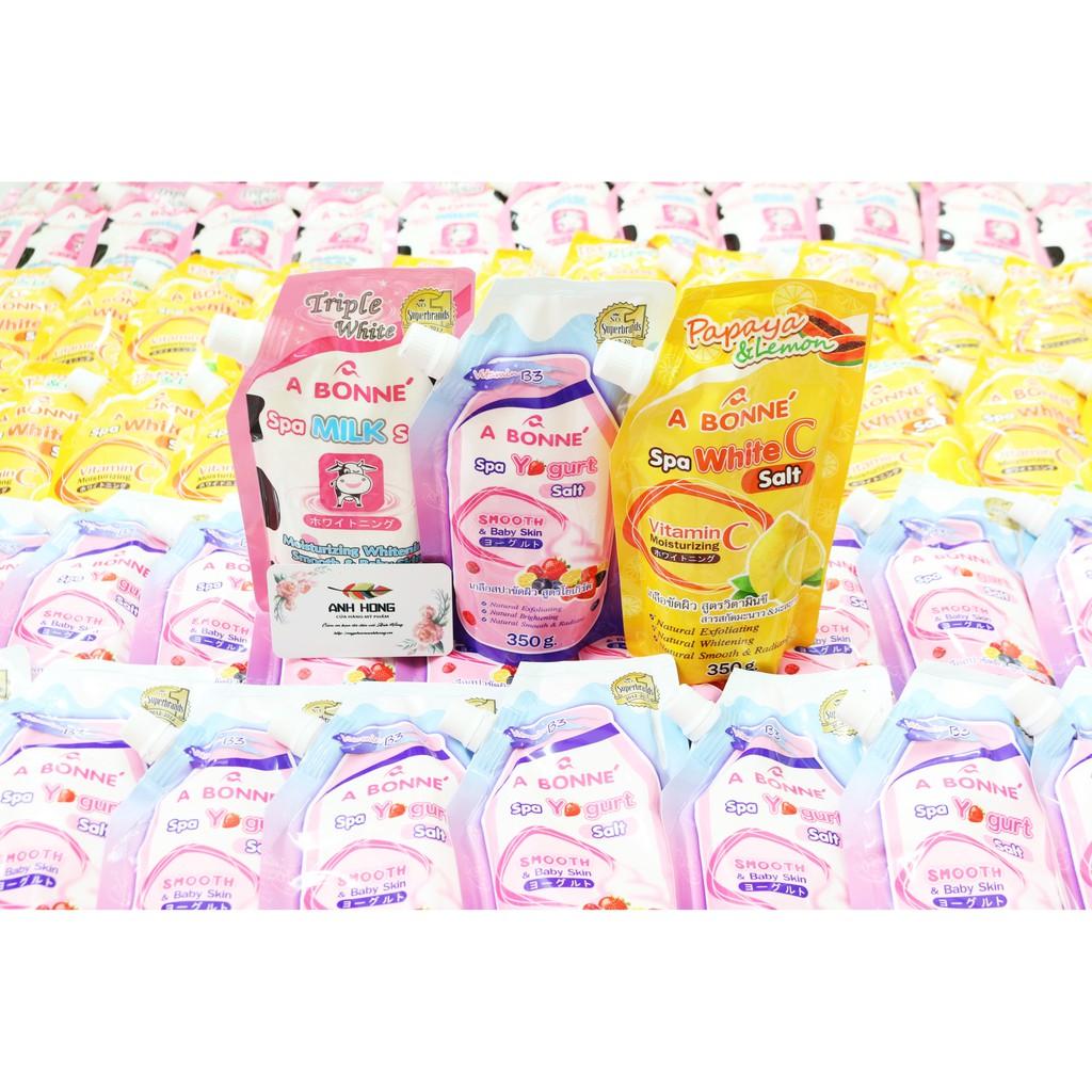 Tẩy Tế Bào Chết Muối Bò ABONNE Thái Lan