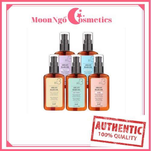 Dầu dưỡng tóc R3 Argan Hair oil sale 88%