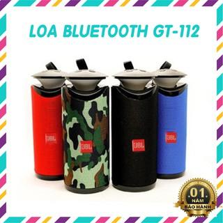 Loa Bluetooth 💖Xả Lấy Lượt Bán💖 Không Dây Mini Cầm Tay BEETEK GT-112 có đèn led siêu ngầu