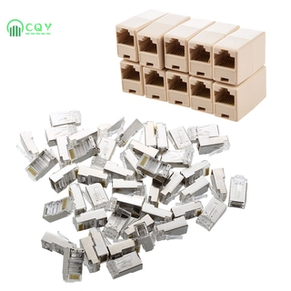 COD RJ45 Cat5 Couplers ~ Joiners ~ Gender Changers * 10 Pack