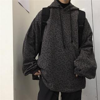 áo hoodie nam unisex thời trang ulzzang hàn quốc], áo hoodie nữ oversize màu xám da báo