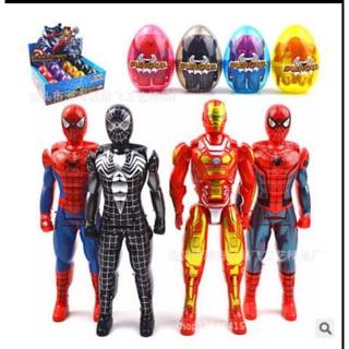 Đồ chơi trứng biến hình siêu anh hùng cho trẻ em
