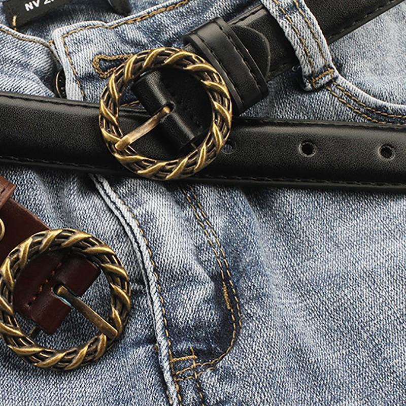 Thắt lưng nữ vải jeans phong cách Punk sang trọng