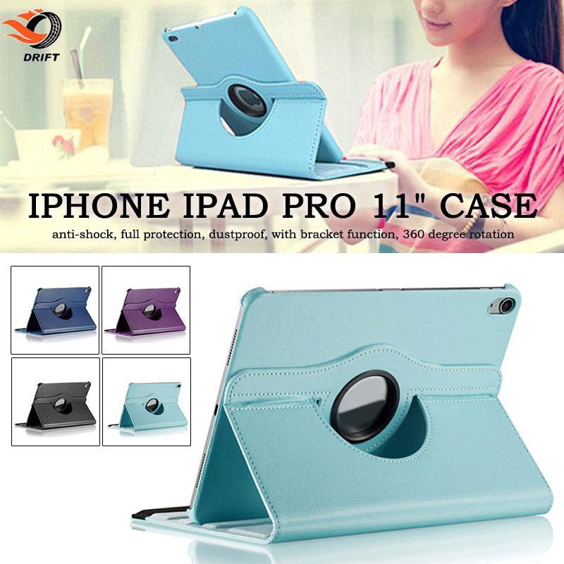 Bao da nắp gập kiêm giá đỡ cho iPad Pro11 inch hàng oki Giá chỉ 69.443₫