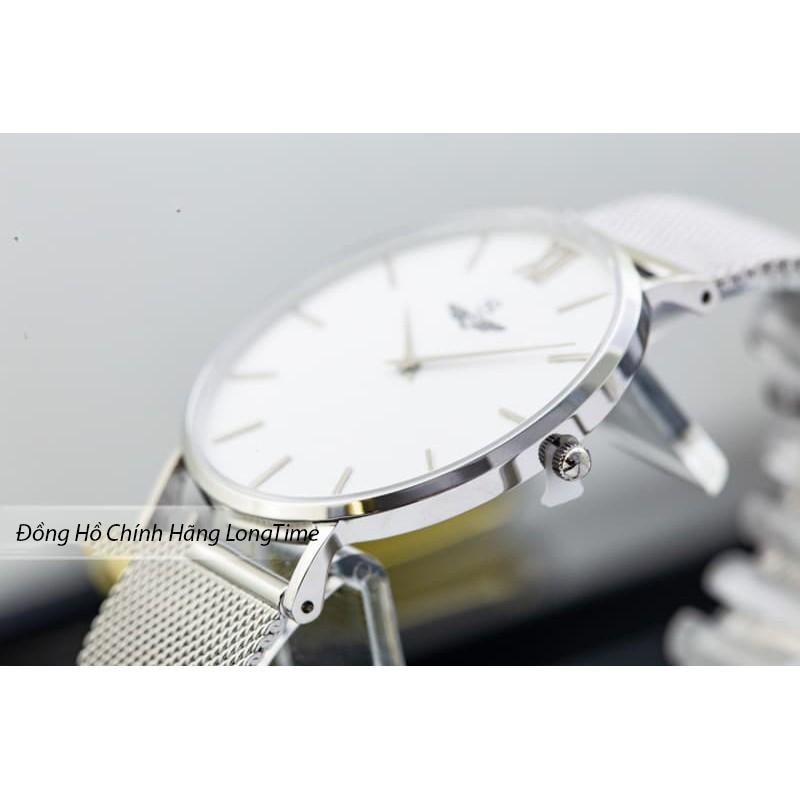 Đồng hồ nam chính hãng SRWATCH Classic SG1085.1102 mặt kính Sapphire chống nước chốn