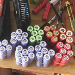 Pin tháo xe đạp điện và laptop 18650