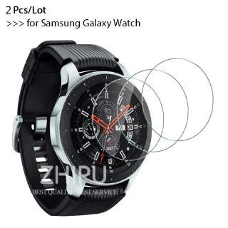 Set 2 Kính Cường Lực Bảo Vệ Màn Hình Đồng Hồ Samsung Galaxy Watch 46mm & 42 mm 9h Premium Và Phụ Kiện