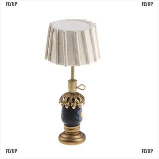 【FLYUP】Dollhouse Miniature Table lamp Furniture Decoration Accessories