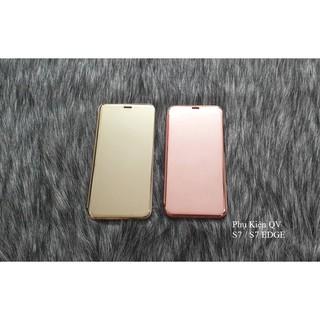 Bao da Clear view standing Samsung S7 edge / S7