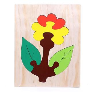 For Kids - Đồ chơi tranh ghép 20x25- Hoa cúc đỏ