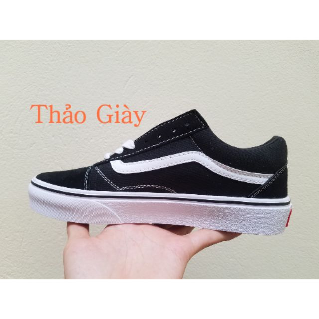 Giày van old đen