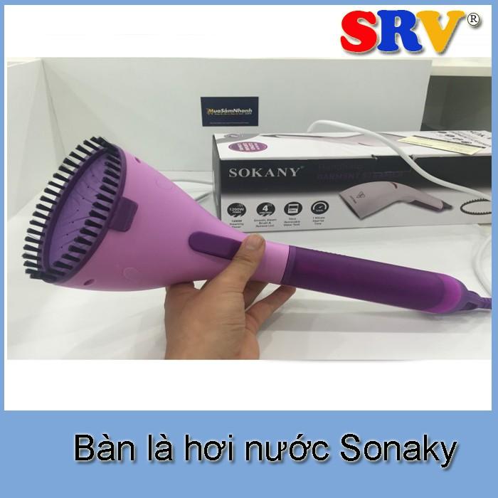 Bàn là hơi nước cầm tay Sonaky GY-868A - 3098942 , 484255626 , 322_484255626 , 359000 , Ban-la-hoi-nuoc-cam-tay-Sonaky-GY-868A-322_484255626 , shopee.vn , Bàn là hơi nước cầm tay Sonaky GY-868A