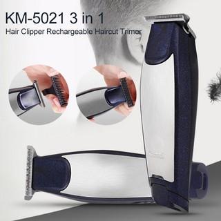 Tông đơ cắt tóc cạo viền Kemei KM-5021 chính hãng