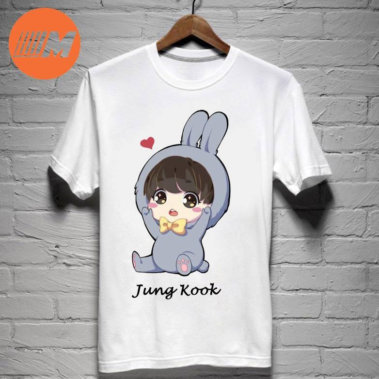 Áo phông BTS chibi Jungkook