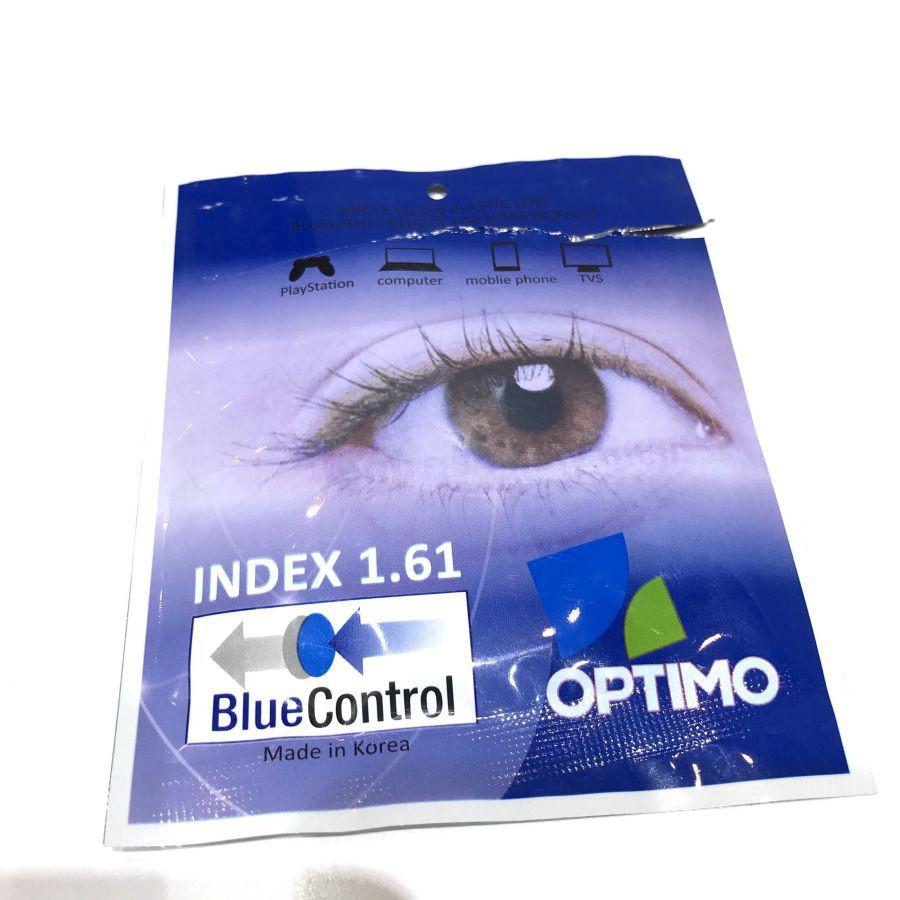 Tròng 1.61 blue lọc ánh sáng xanh hàn quốc chính hãng