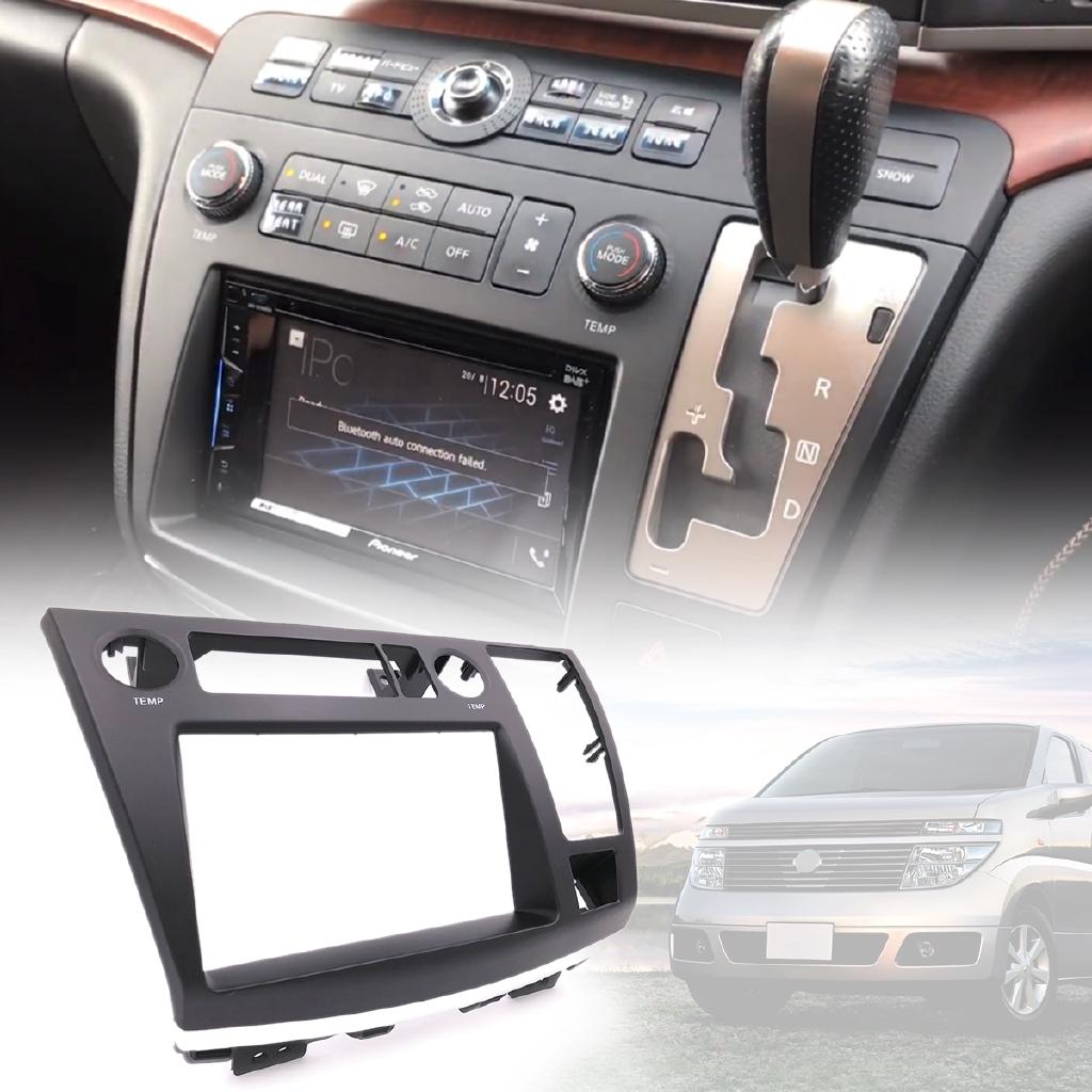 Hot🚓For Nissan Elgrand (E51) Radio Facia Dash Kit Panel Fascia Plate Fits