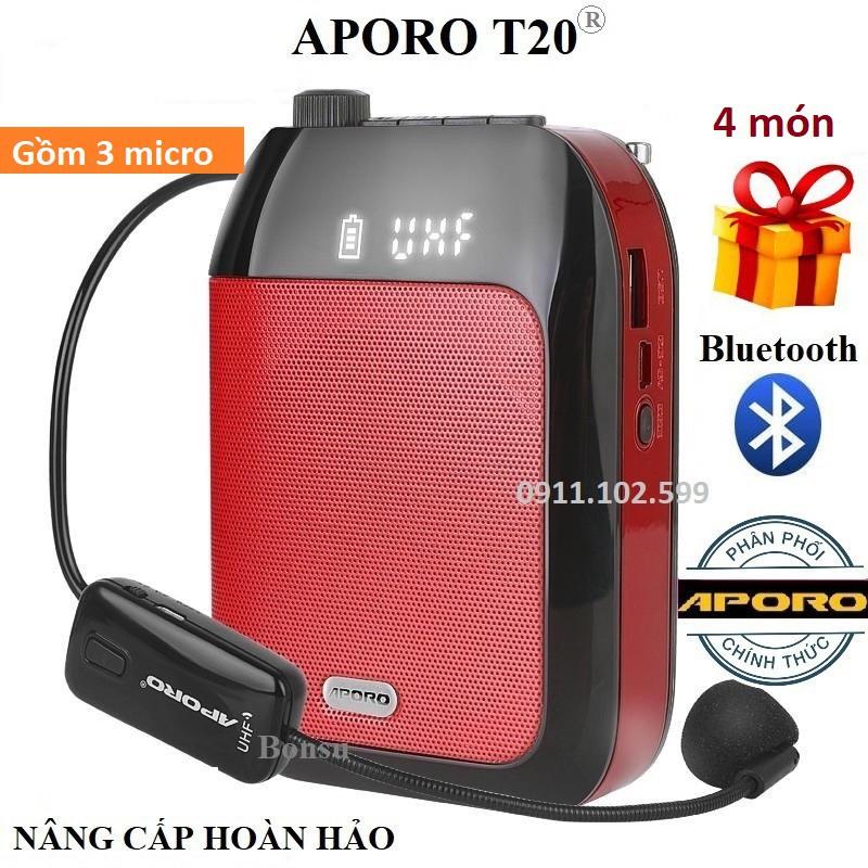 Loa trợ giảng Aporo T20 UHF có Bluetooth không dây