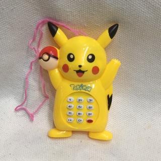 Điện thoại pikachu phát nhạc vui nhộn (726)