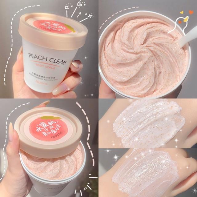 Tẩy Da Chết Body Đào Feotznw Peach Clear Body Scrub 200ML