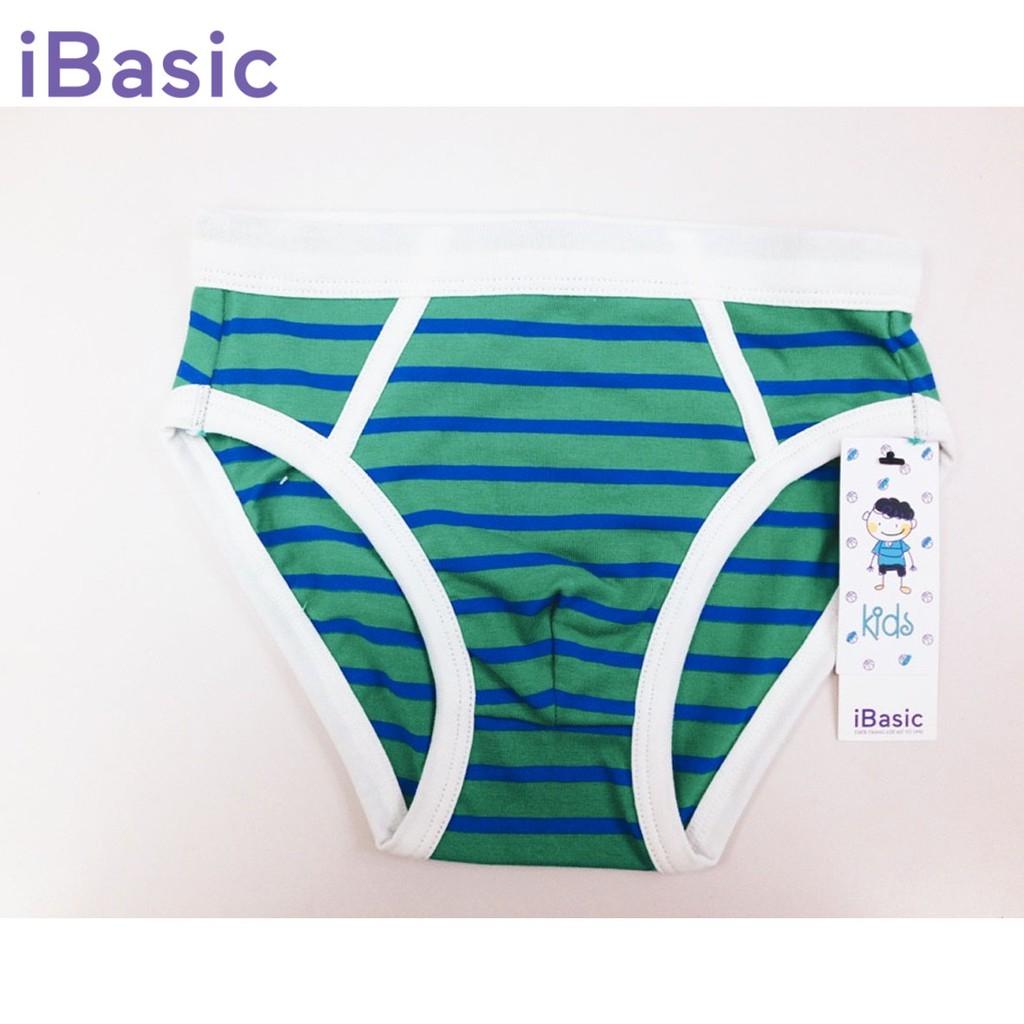 Quần brief bé trai sọc iBasic PANB013