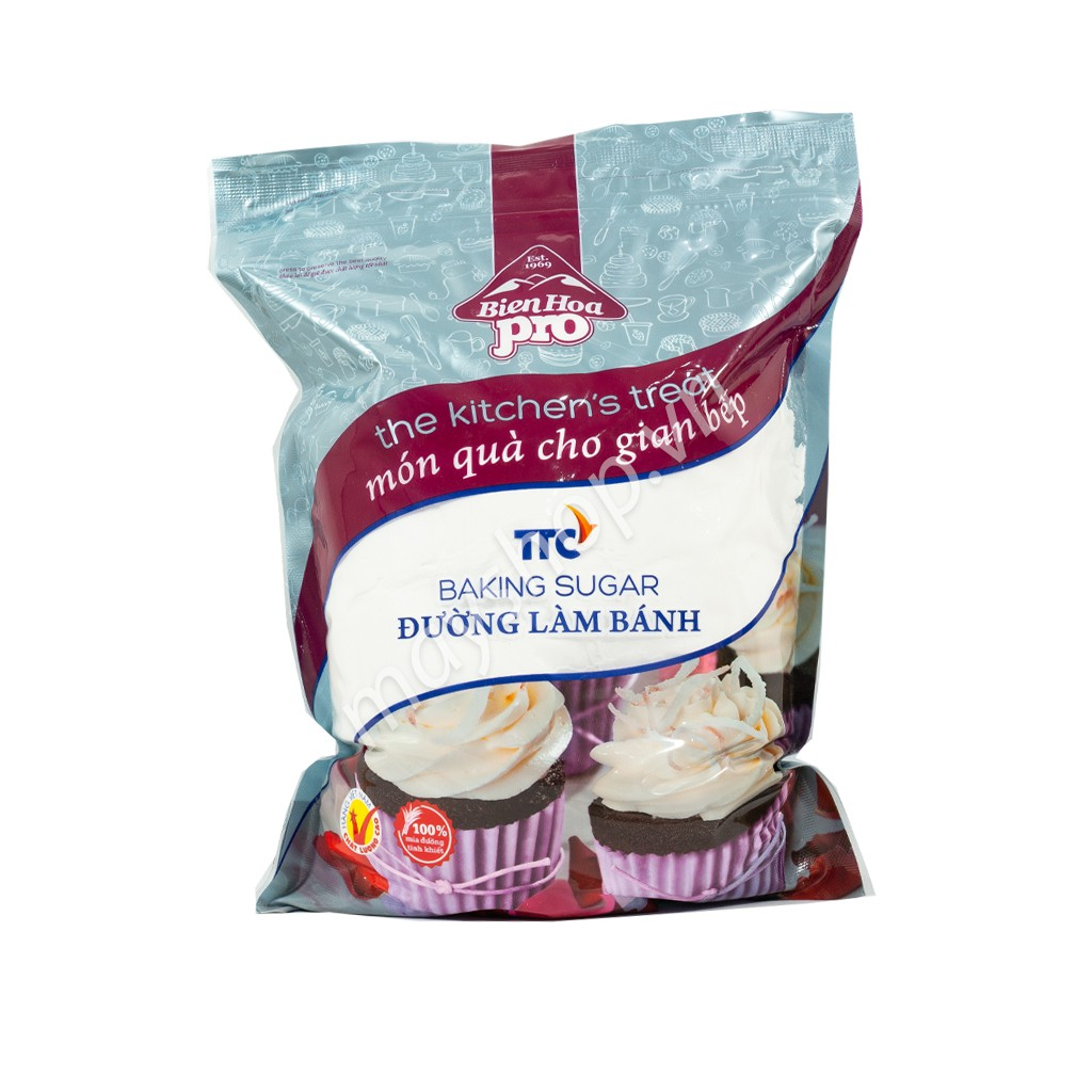 Đường xay Biên Bòa Pro Baking (1kg)