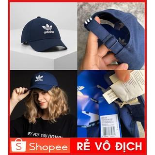 Yêu Thích💖[ HÀNG XUẤT XỊN ] Mũ / Nón Thời Trang Adidas Trefoil Baseball Cap - Blue | FM1323 / Ảnh Thật / Giá RẺ NHẤT | SẴN HÀNG