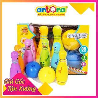 [Rẻ-đẹp] Đồ chơi Bowling vui nhộn cho bé- Hàng Việt Nam an toàn cho bé