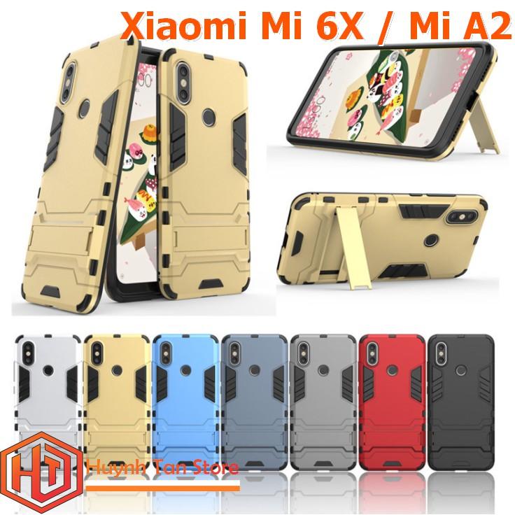 Xiaomi Mi 6X / Mi A2 _ ỐP lưng chống sốc Iron Man
